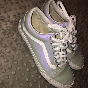 Vans Old Skool Iridescent Muted Grey & Violet